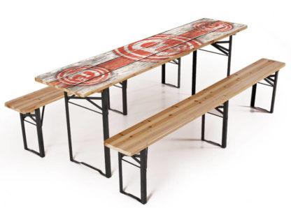 table avec impression personnalisé