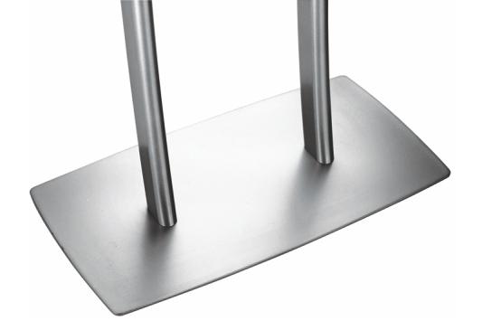 Infoboard menu bended pied