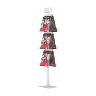 Brochure-Stand-Pyramid