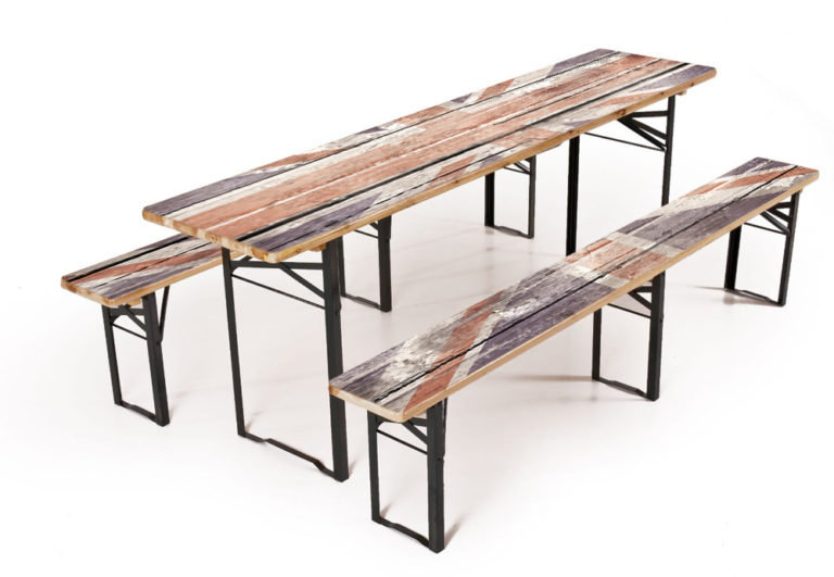 Table avec impression Fotoboden