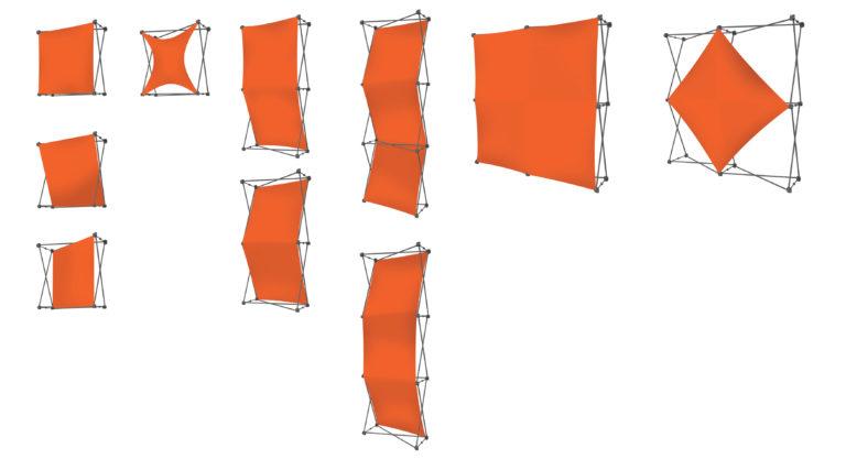 X-board formes