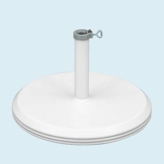 Base lourde béton ø 60 cm 40 kg pour tube ø 50 mm