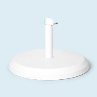 Base lourde béton 30 kg ø 50 cm pour tube ø 25 mm