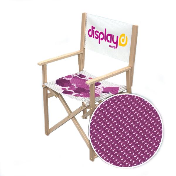 Chaise de réalisateur mesh