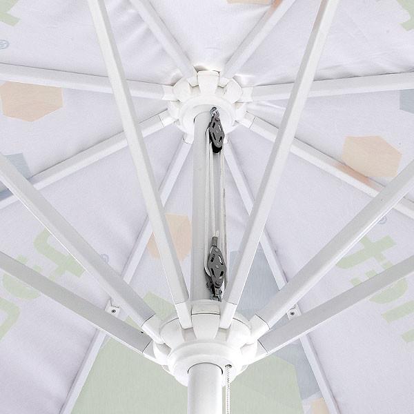 Parasol XL rond finition
