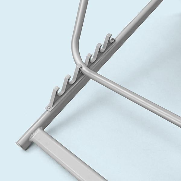 Transat en aluminium hauteur variable