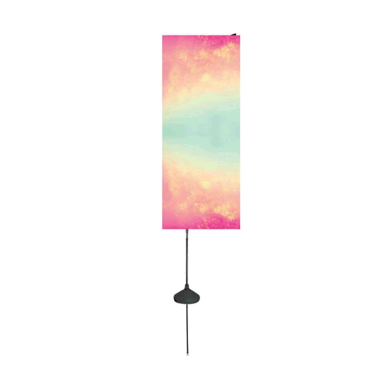 Aqua Flag_rectangle pub sur l'eau