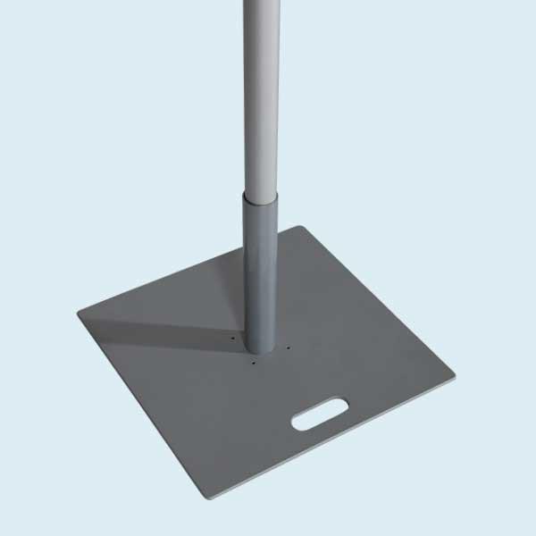 Eco Flag_base lourde 55x55, 19,7 kg